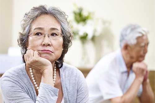 「熟年離婚」の画像検索結果